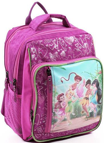 Вместительный яркий школьный рюкзак для девочки из нейлона 9 л. Bagland 11270-22