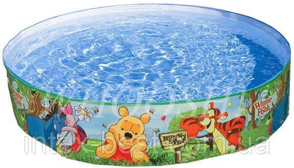 Intex 58475 - круглый каркасный бассейн The Pooh Snapset 122x25 см