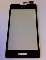 Оригинальный тачскрин / сенсор (сенсорное стекло) для LG Optimus L5 II E450 | E460 (черный цвет)