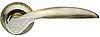 Дверные ручки ARMADILLO Diona LD20-1AB/GP-6 бронза/матовое золото