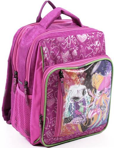 Легкий вместительный школьный рюкзак для девочки из нейлона 9 л. Bagland 11270-24