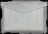 Папка-конверт А4 на кнопке ВМ.3924-00 (ас, полупрозрачная)