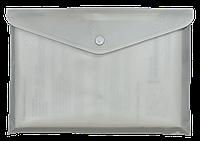 Папка-конверт А4 на кнопке ВМ.3924-00 (ас, полупрозрачная), фото 1