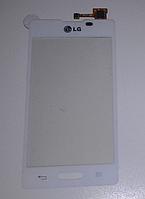 Оригинальный тачскрин / сенсор (сенсорное стекло) для LG Optimus L5 II E450 | E460 (белый цвет)