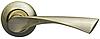 Дверные ручки ARMADILLO Corona LD23-1AB/GP-6 бронза/матовое золото