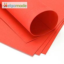 Фоамиран ТОМАТ (помаранчевий), 60x70 см, 0.8-1.2 мм, Іран