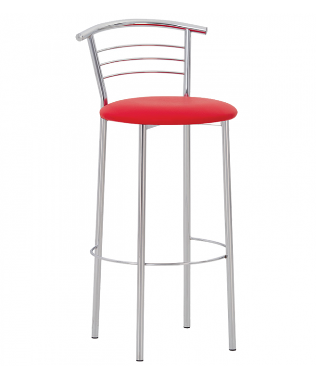 Барный стул Марко хокер Alu (ткань)