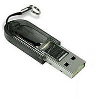 USB кардридер MicroSD 2.0 раскладной #100138