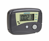 Цифровой шагомер педометр счетчик калорий #100142