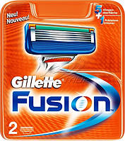 Лезвия Gillette Fusion 2 шт.