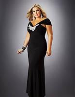 Покупка вечерного платья большого размера