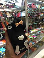 Чехол заяц Moschino для iPhone 4/4S, черный, фото 1
