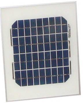 Сонячна панель монокристаллическая 5Вт (PT-005)