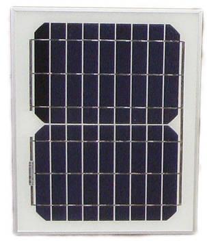 Сонячна панель монокристаллическая 10Вт (PT-010)