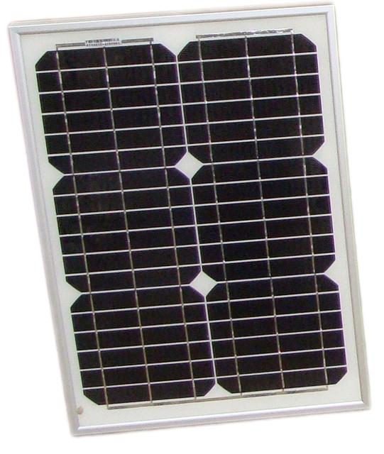 Солнечная панель монокристаллическая 20Вт (PT-020)