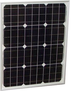 Сонячна панель монокристаллическая 50Вт (PT-050)