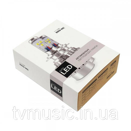 LED лампа Sho Me G1.1 H1 6000K 30W