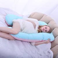 Подушка для беременных U(П)-280см(факт.высота-120см), разные цвета