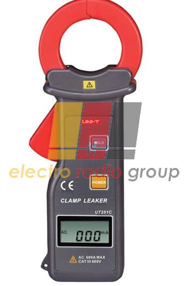 Токоизмерительные клещи для измерения токов утечки  UNI-T UTM 1251С (UT251С)