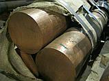 Круг бронзовый 65 мм Броцс 555, Браж 9-4, БражМц, фото 5