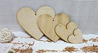 Панно-подвеска Сердце 10см