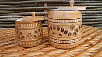 Деревянные баночки для сыпучих и круп, фото 1