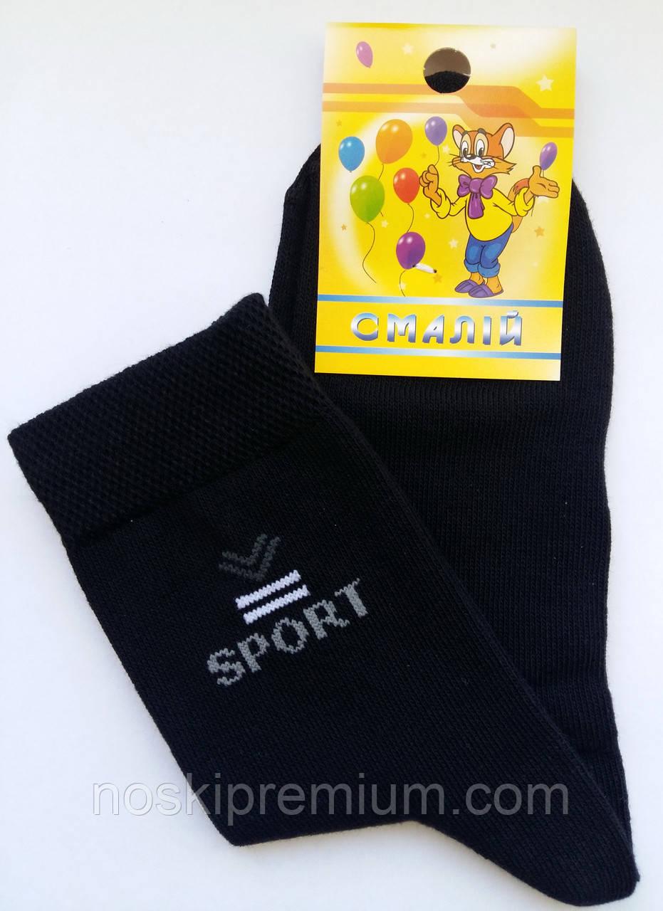 Детские носки демисезонные х/б Смалий, 33-35, 22 размер