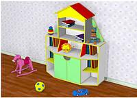 Стенка для детских пособий в детский сад
