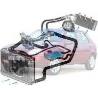 Система охлаждения Ford Fiesta Форд Фиеста 1999-2001