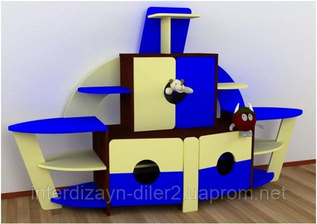 """Стенка для детского сада """"Кораблик"""""""