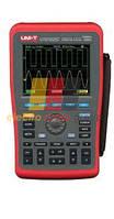 Цифровой осциллограф UNI-T UTDM 11025C (UT1025C), портативный, мультиметр, двухканальный, 25 МГц, 12