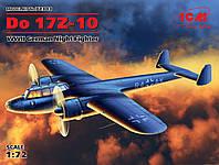 Сорная модель самолета    'Do  17z- 10'     1\72      ICM, фото 1