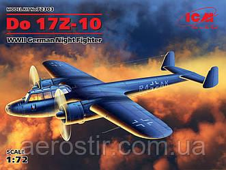 Смітна модель літака 'Do 17z - 10' 1\72 ICM