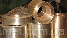 Бронзовая втулка 390х300х45  мм БрОЦС-555, БрАЖ 9-4, БрАЖМЦ, БрОФ