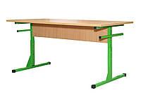 Стол для столовой прямоугольный 4-местный с пластиковой столешницей, фото 1
