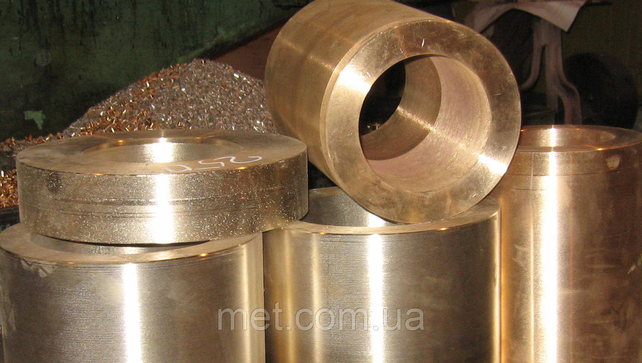 Бронзовая втулка 840х720х60  мм БрОЦС-555, БрАЖ 9-4, БрАЖМЦ, БрОФ, фото 1