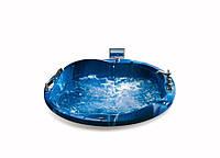Гидромассажная ванна синяя SSWW A508, 1800х1800х720 мм