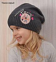 Детская весенняя шапка для девочки , фото 1
