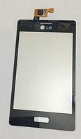 Оригинальный тачскрин / сенсор (сенсорное стекло) для LG Optimus L5 E610 | E612 (черный цвет)