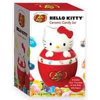 Банка керамическая конфетная + желейные бобы Jelly Belly Hello Kitty, 40г
