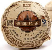 Чай Шу Пуэр Да И V93 2009 Год, От 10 Грамм, фото 1