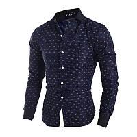 Синяя рубашка Орландо44р., фото 1