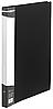 Папка А4 с бок прижимом пластик BM.3402-01 (черная)