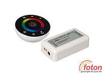 Контроллер RF RGB 18А Black (Touch) round