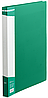 Папка А4 с бок прижимом BM.3402-04 (зел, пластик)