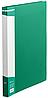 Папка А4 з пліч притиском BM.3402-04 (зел, пластик)