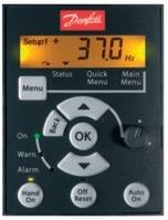 Панель управления LCP 12 (с потенциометром) 132В0101