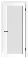 """Межкомнатные шпонированные двери """"Флоренция ПОО"""" со стеклом 2-х сторонний сатин"""