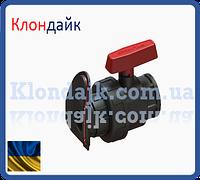 Шаровый кран с внутренней резьбой 1 1/2 для шланга лейфлет
