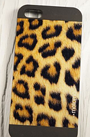 "Пластиковый Чехол ""Motomo Skin Leopard two"" для Apple iPhone 5/5S Чехол для айфона"